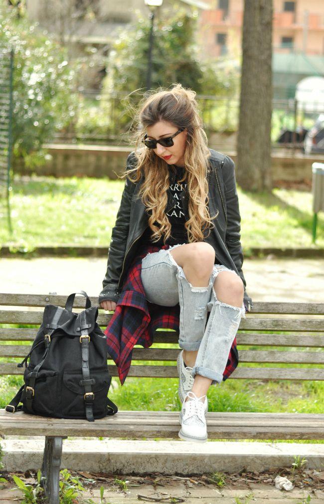 come indossare le francesine basse (9)