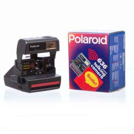 Polaroid 636 Talking Camera – Black from Photography Boutique - R1,699 (Save 0%)