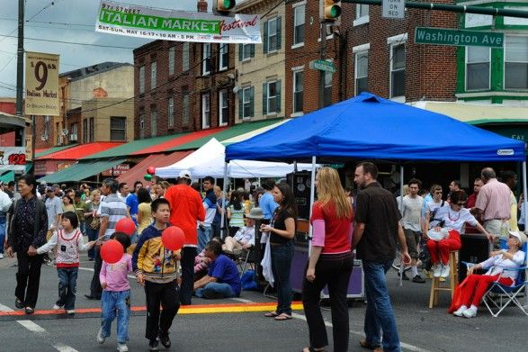 9th Street Italian Market Festival May 21st and 22nd in Philly.