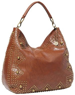 BIG BUDDHA Leora Tote,Brown,One Size