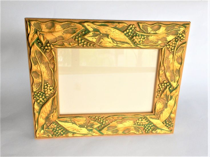 5 x 7 , Gold Picture Frame, Gold Photo Frame, Ornate Picture Frame,  Picture Frame, Decorative Photo Frame,Square Photo Frame, Item GLPF1001 by GoldLeafGirl on Etsy