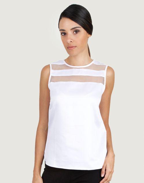 Guayabita - Camisa Blanca - Blusa Blanca - Ignacia                                                                                                                                                                                 Más
