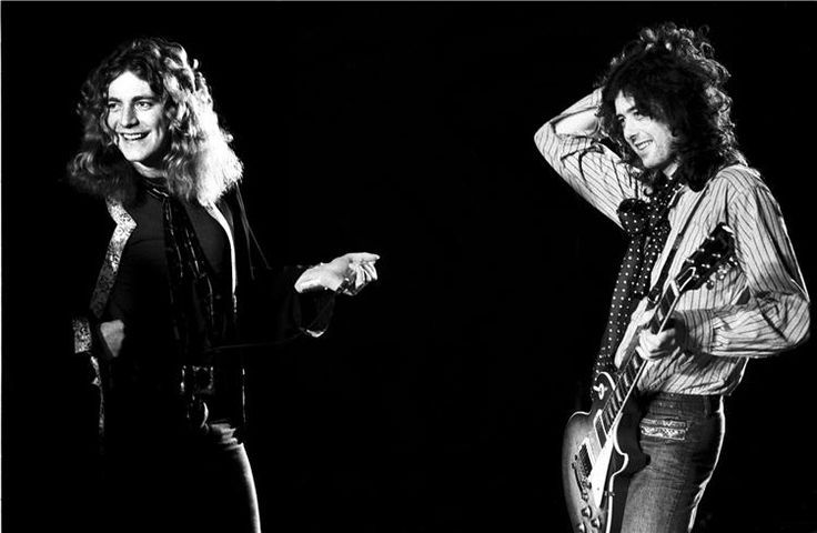 Robert Plant and Jimmy Page © Neal Preston