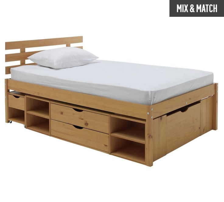 Collection Ultimate Storage Ii Small Double Bed Frame At Argos Co Uk