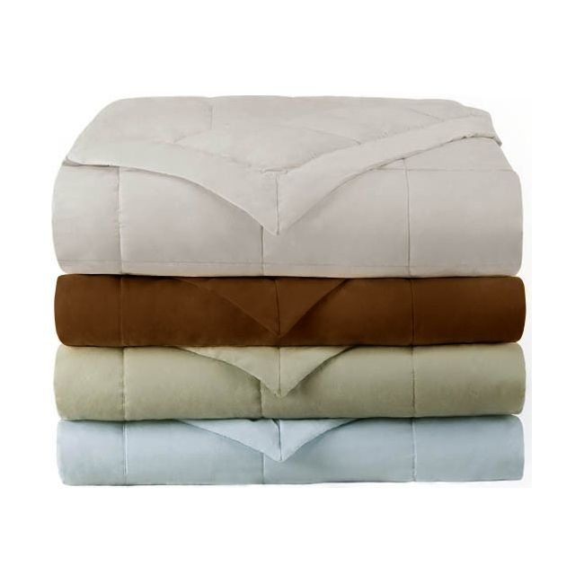 Colormate- -Down Alternative Blanket-Bed & Bath-Bedding Essentials-Blankets & Throws  sears