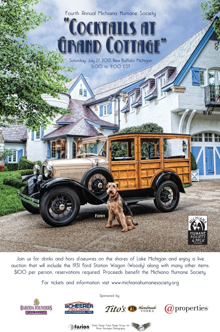 a 1930 ford woody and beautiful home is the classic backdrop for a outside garden party
