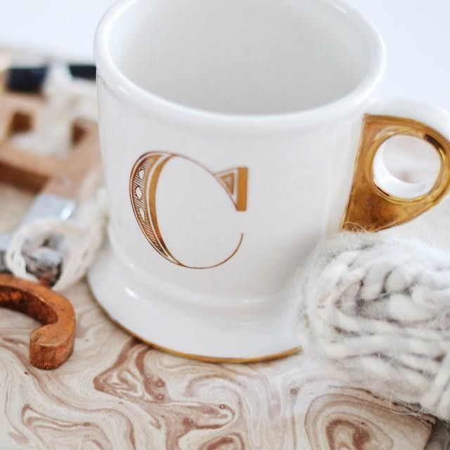 Loving this monogrammed mug!  Only $10 http://rstyle.me/n/uk2zvnyg6