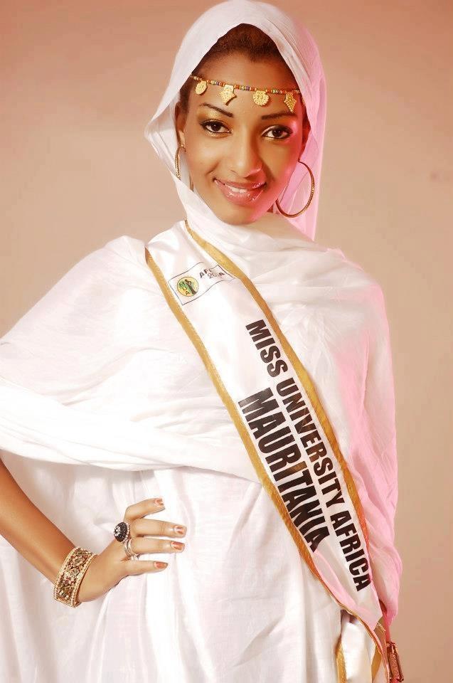 Miss University Africa Mauritania Mauritania Pinterest
