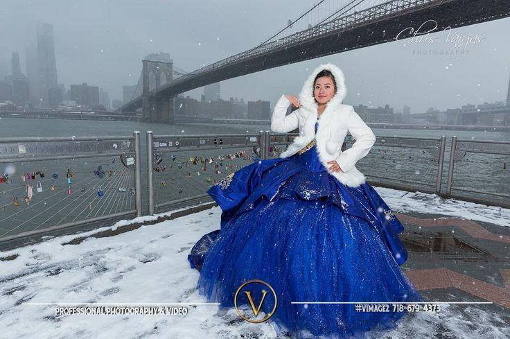 La Princesa en la nieve  Foto & Video por @vimagez  #vimagez #sweet16 #sweet15 #birthday #birthdayparty #daughter #Quinceañera #sweet16dress #sweet15dress #quinceaños #quince #quincedress #ballgown #quinceaneragowns #misxv #xvdress #sweet16gown #quincephotography #quinceaneraphotography #damas #chambelanes #brooklynbridge #dumbo #snow