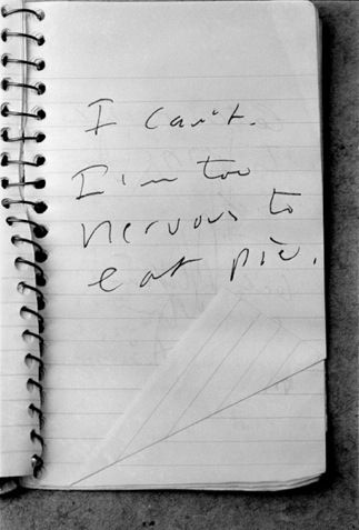 Raymond Carver scribbles.                                                                                                                                                                                 More