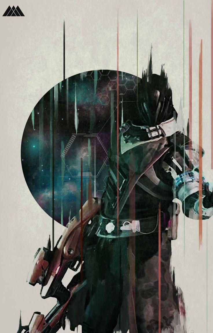 Destiny Warlock   Art Inspiration   Pinterest   Destiny ...