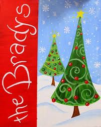 Image result for christmas canvas paintings