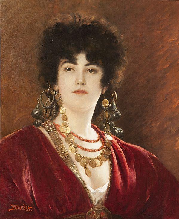 VÁCLAV BROŽÍK (1851 – 1901) Faraos daughter