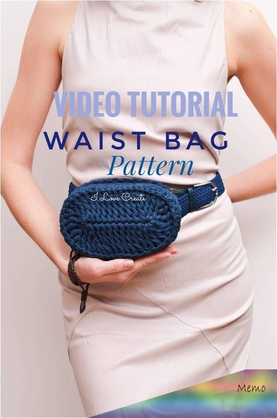 This Pin Was Discovered By Sharonda Rivera Jimenez Discover And Save Your Own Pins On Pinterest In 2020 Handbag Tutorial Crochet Belt Bag Pattern