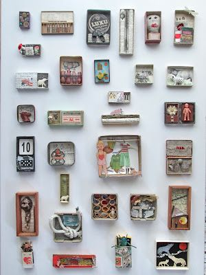 mano k. art boxes, all of august 2012