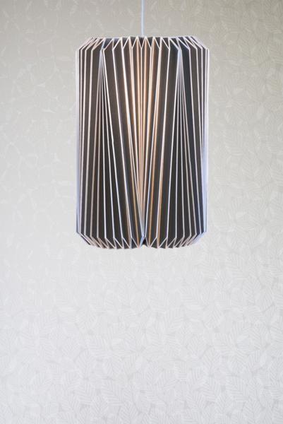 Cumulus paper lampshade