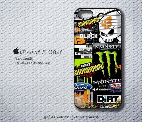 Ken Block DC Shoes Monster Rally Team GYMKHANA Hoonigan iPhone 5 Case | Dalmanaz - Accessories on ArtFire