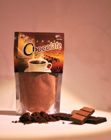 Malam-malam minum jahe coklat dari @profood_id. Lokasi: Semarang