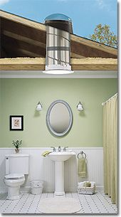 the more light, the better.  Solar tubes, also known as rigid tubular skylights,   are perfect for hallways, bathrooms, walk-in closets, kitchens--a straight shot of brilliant, natural sunlight.  http://www.accentbuildingproducts.com/cgi-bin/accent/skylights/solar-tube-skylights.html?gclid=COLuq6O5i7UCFY1DMgodbBAAHg  SEE ALSO: http://www.solatube.com/  SEE ALSO: http://www.solatubemarketing.com/solar_star/rm_1200_2.jpg    SOLAR roof mounted attic fan.