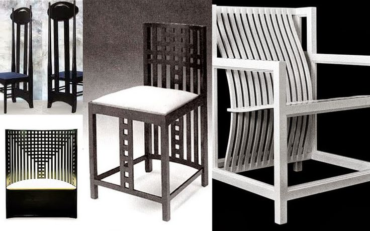19 best images about chairs in the style of Mackintosh on  : d0f6dc65fed65e924b081f29515e7c6a from www.pinterest.com size 736 x 460 jpeg 64kB