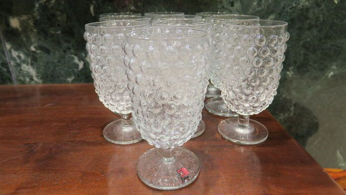 Glasses for water made in Spain in 1929, 10 units