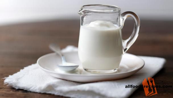 Buttermilk – This homemade butter milk is prepared with simple steps as it involve almost no cooking and very little time.    RECIPE : http://www.allfoodsrecipes.com/recipe/buttermilk/