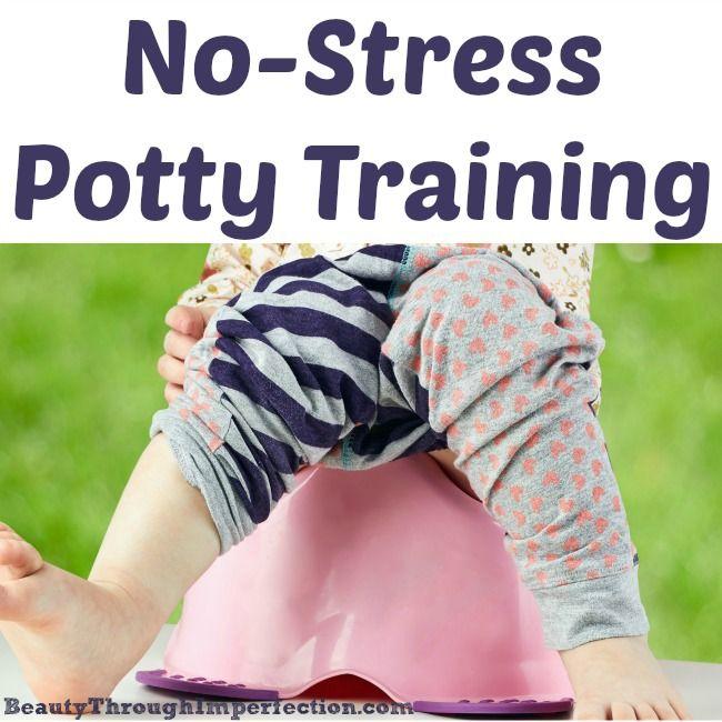 Stress free potty training? I like the sound of that!