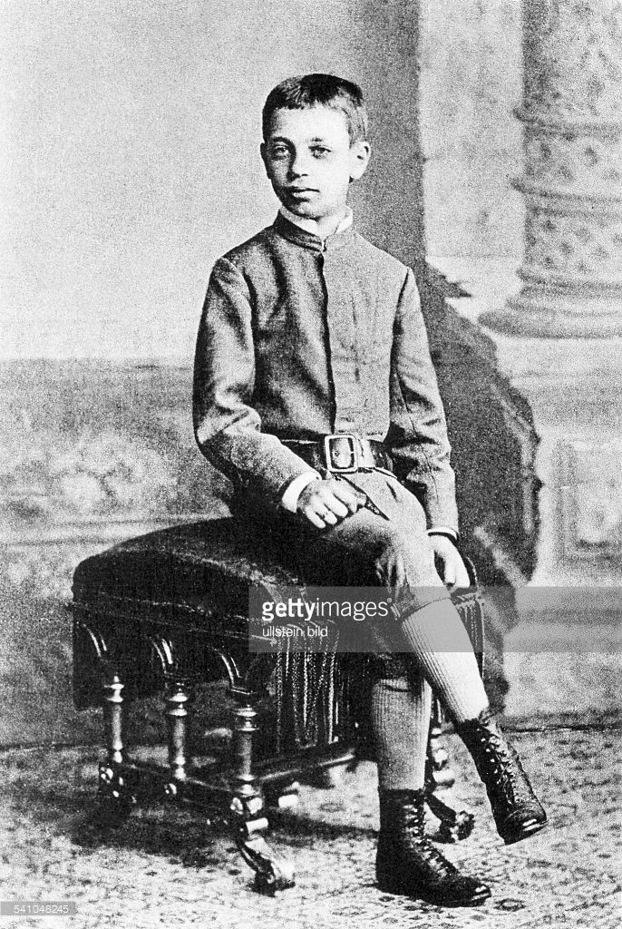 Rainer Maria Rilke as a pupil of the Sankt Pölten military school (Austria), circa 1885