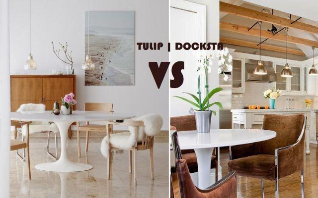 Gemelli diversi: Ikea vs knoll #ikea #knoll #tavolo #arredo #mobili