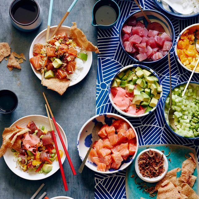 12 Poke Bowl Recipes That Will Transport You Oceanside via Brit + Co