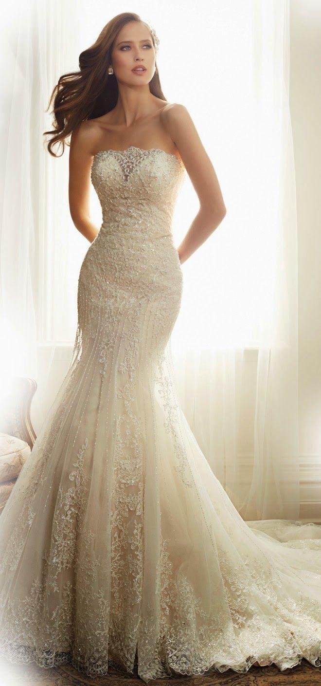 73 best Wedding Gowns 2 images on Pinterest | Wedding dressses ...