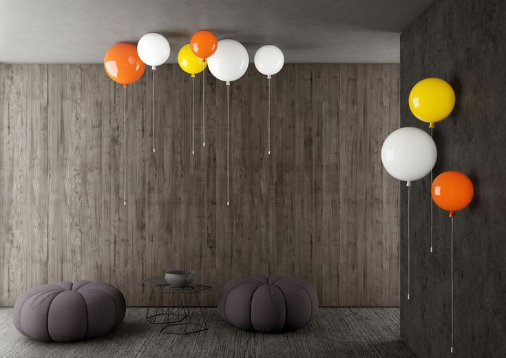 La lampe ballon de Brokis | MilK decoration
