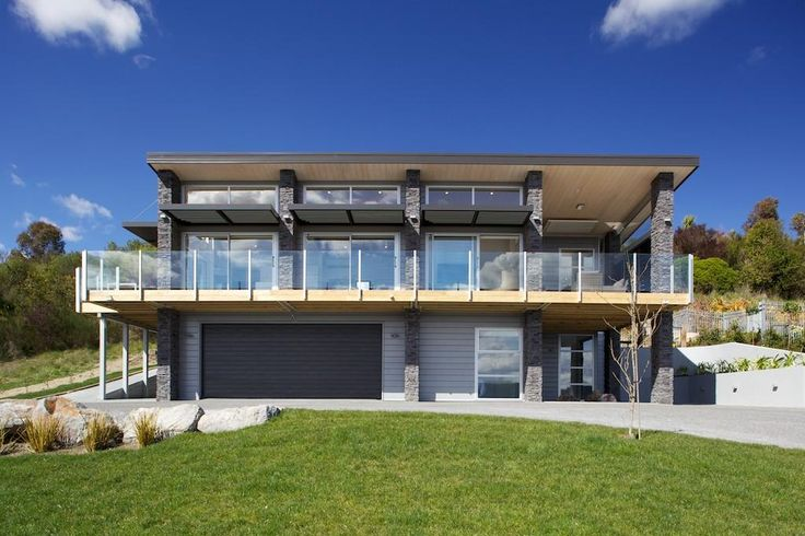 With all the living areas upstairs it gives the home space for that spacious double garage