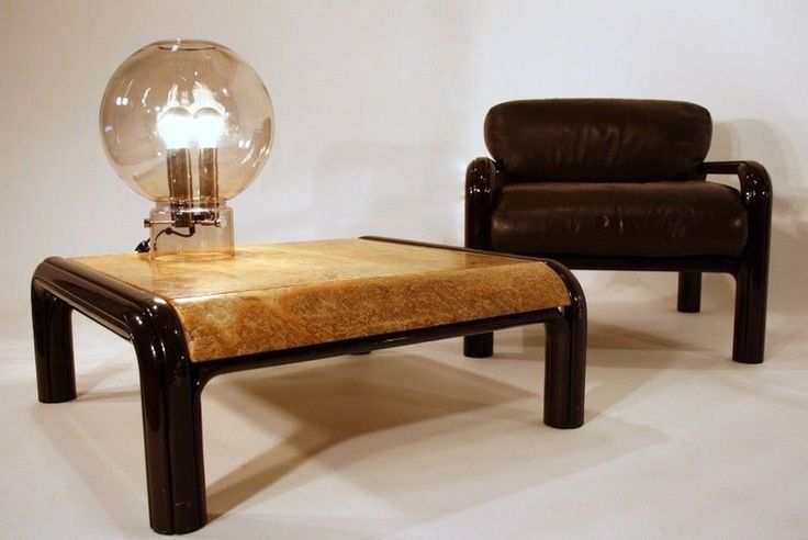 RARE 70s Gae Aulenti couchtisch coffeetable TABLE MARBLE tavolo Knoll 70er  | eB…