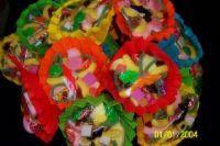 Snoepboeket in verschillende kleuren - Ozzies traktaties