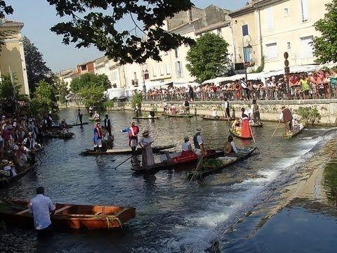 Le Marché flottant de L'Isle sur la Sorgue – Fêtes et Traditions – Sortir en Provence