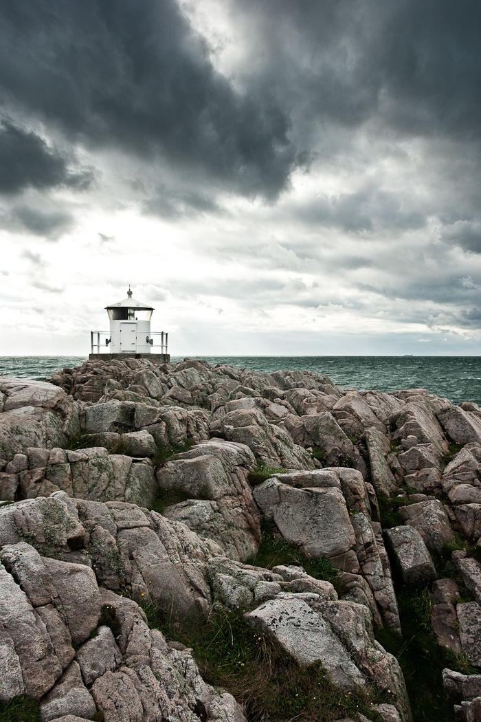 Kullen or Kullaberg in Sweden... the lighthouse