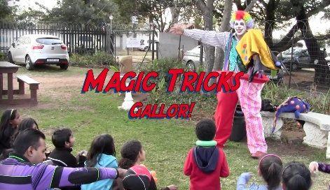 Meet Alwyn the magic clown