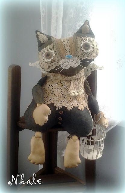 NKALE :-) В каждой игрушке сердце: Мефодий)... Кот ученый...