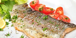 Broiled Rainbow Trout with Fresh Tomato | Diabetes Canada