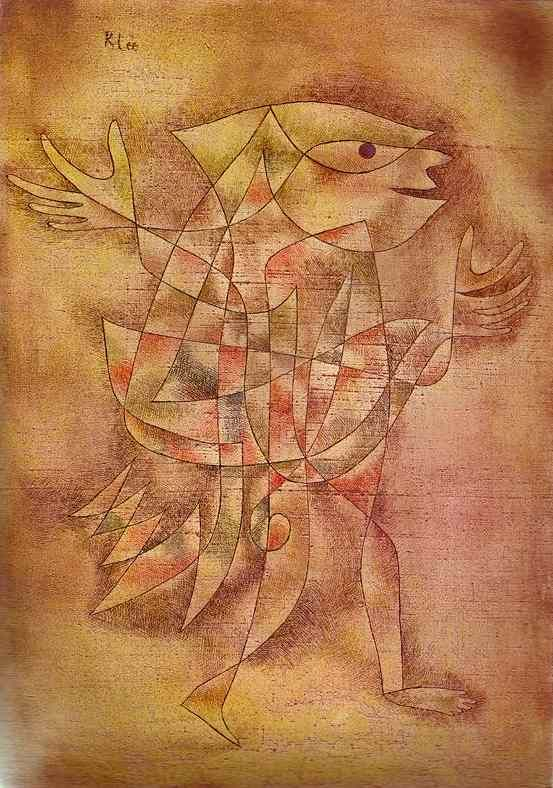 Paul Klee 1929, Little Jester in a Trance