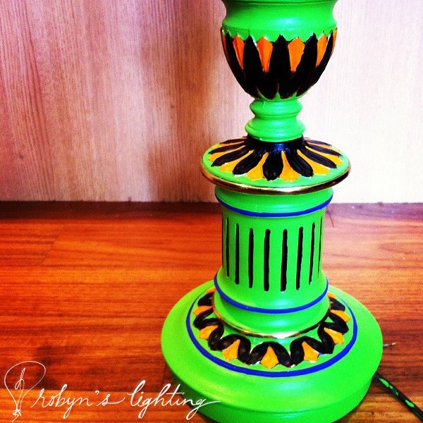 up close and personal with lime green, www.robynslighting.com