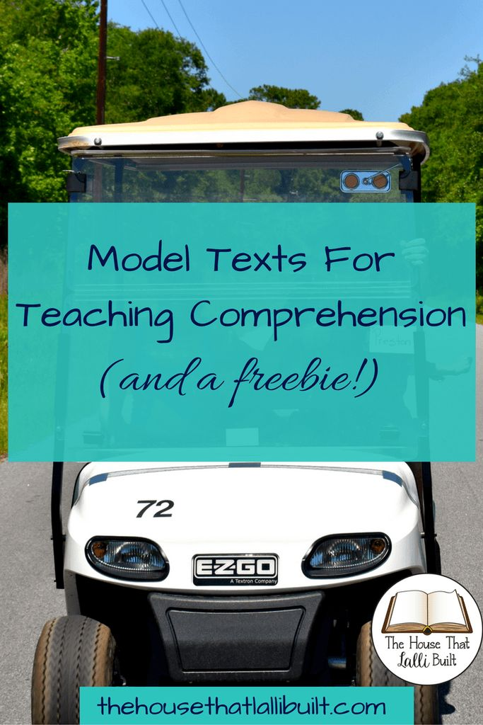 Need suggestions for great model texts when teaching reading comprehension strategies? Check out my guide!