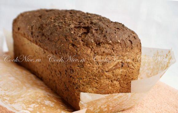 Диетический хлеб низкокалорийный рецепт | CookNice