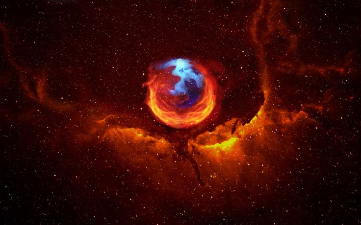 FireFox Nebula vs. Hubble-Fox (Gratis achtergronden)