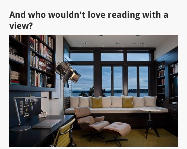Books with a view