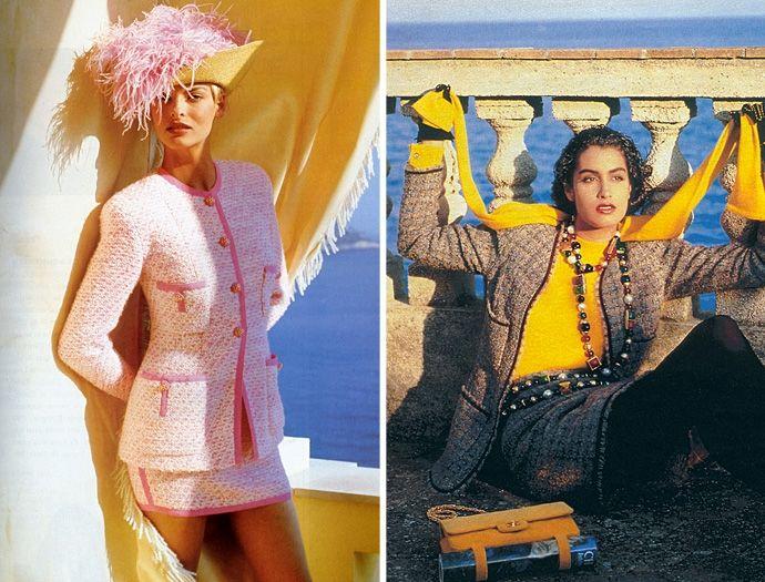 Коко Шанель и ее твидовый костюм / фото