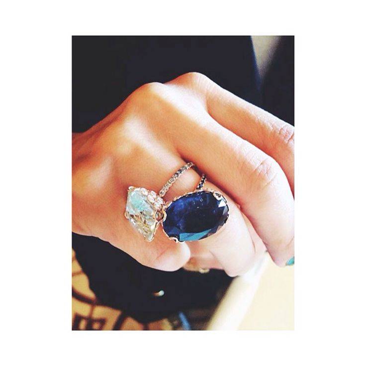 Kyanite  Aquamarine #TokyoRocks RG @yukarinegishi #RonHerman #TreasureBox #RoseCutDiamonds #LITO #LitoJewelry