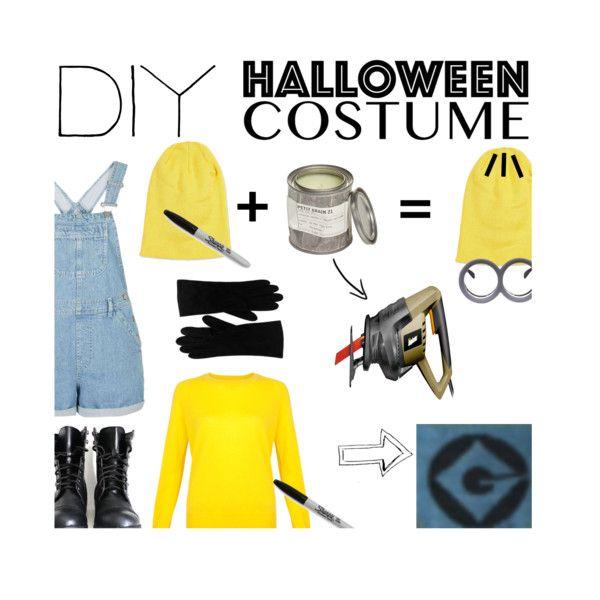 DIY Minion !! Outfit Idea 2017