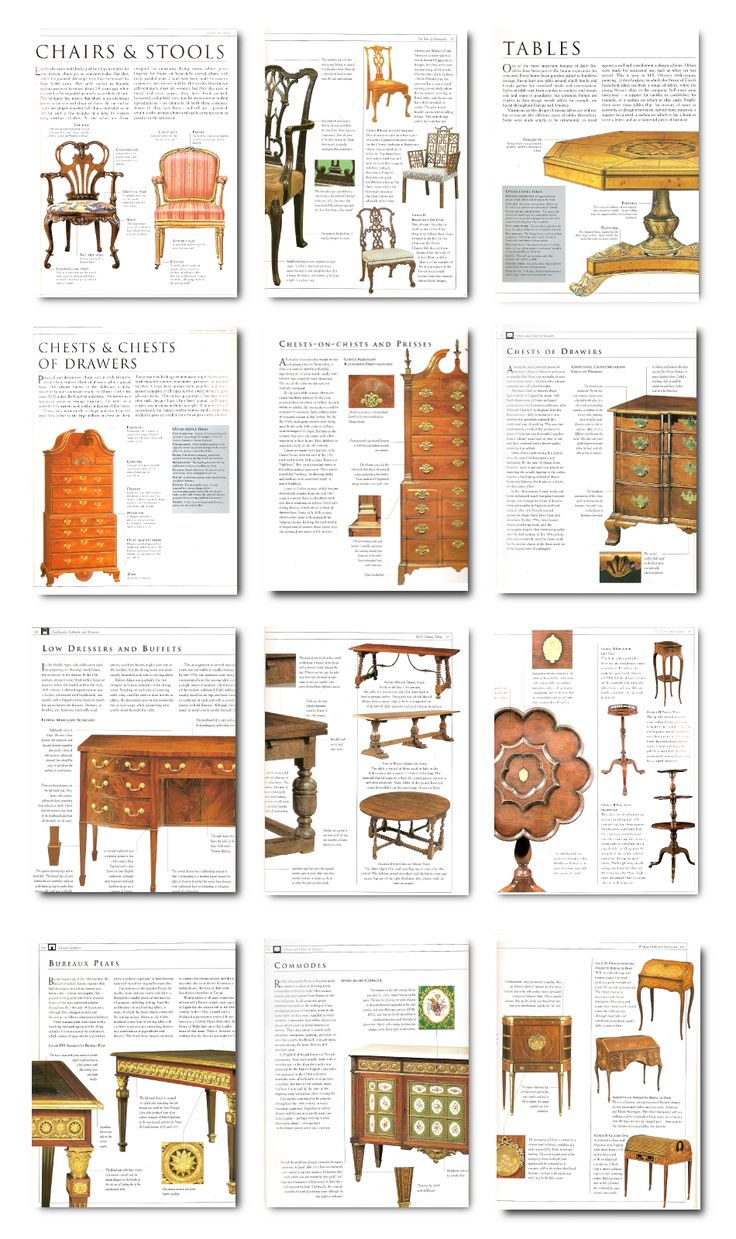 Antique chairs styles pictures - If You Love Shopping For Antiques And Possibly Sell Period Furniture Having A Guide Book Which Can Help You Identify The Periods Along With The Styles Can